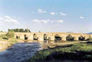 Sa'adat Abad Brücke (Pol-e Chubi)
